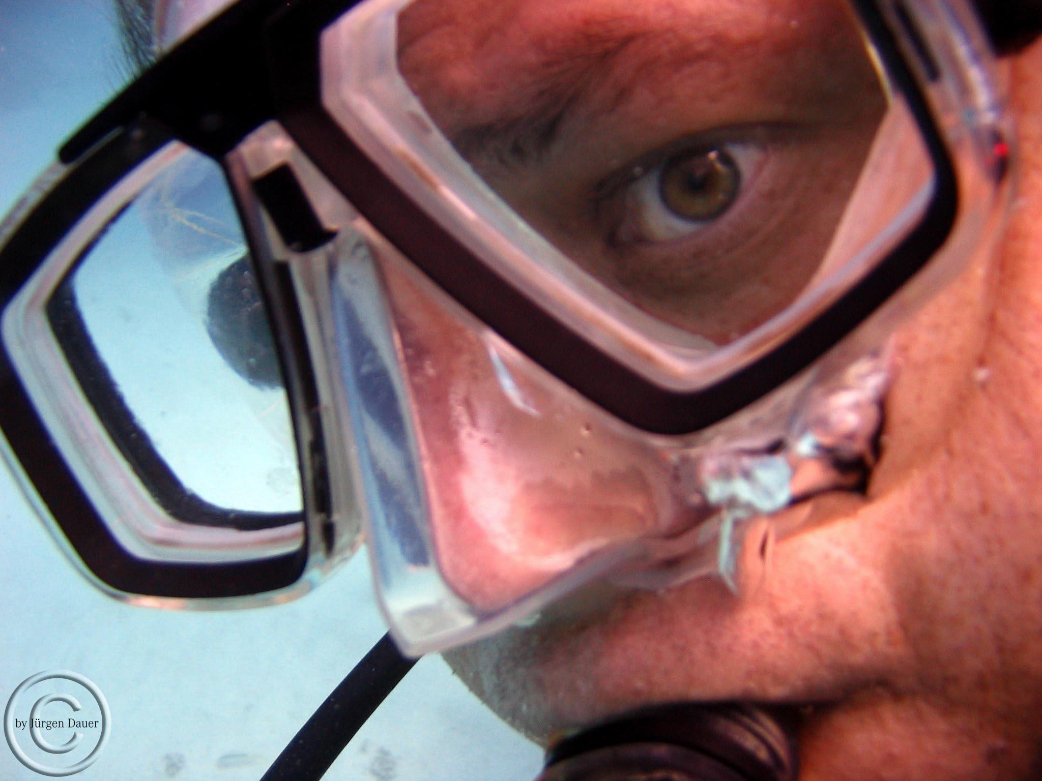Unterwasser-Portrait
